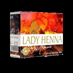 Краска для волос на основе хны Lady Henna, Каштан, 60г