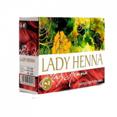 Краска для волос на основе хны Lady Henna Махагони, 60г