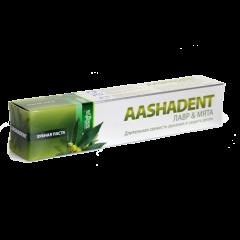 Аюрведическая зубная паста Лавр и Мята Aasha, 100 мл