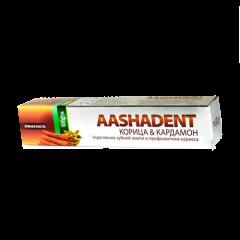 Аюрведическая зубная паста Корица и Кардамон Aasha, 100 мл