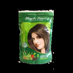 Хна натуральная с полезними травами Black Rose Herbal Henna,140 г