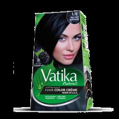 Краска для волос Vatika Naturals Глубокий Черный 50 мл+50 мл