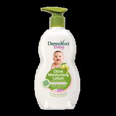 Детский увлажняющий лосьон с оливковым маслом DermoViva Baby, 200 мл