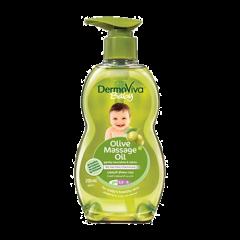 Детское массажное масло с оливковым маслом DermoViva Baby Dabur, 200 мл