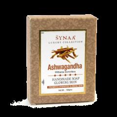 Мыло ручной работы Ашваганда Synaa, 100 г