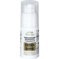 """Блеск-бальзам для волос """"Extra-Shine"""" с термозащитой Triuga Ayurveda, 30 мл"""