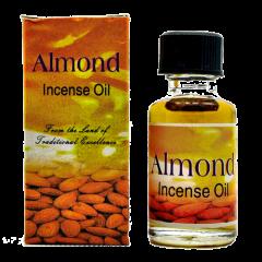 Индийское ароматическое масло миндальное Almond, 8 мл