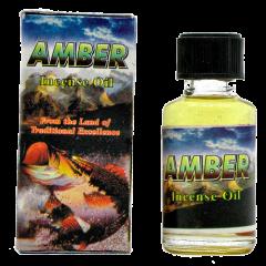 Индийское ароматическое масло янтарное Amber, 8 мл