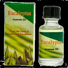 Индийское ароматическое масло эвкалипт Eucalyptus, 8 мл