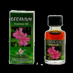 Индийское ароматическое масло герань Geranium, 8 мл