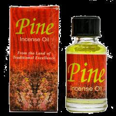 Индийское ароматическое масло хвоя Pine, 8 мл