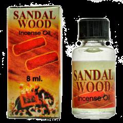 Индийское ароматическое масло сандалового дерева Sandal Wood, 8 мл