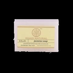 Аюрведическое Жасминовое Мыло на глицериновой основе, 100% натуральное KHADI, 125 г