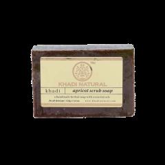Аюрведическое Абрикосовое Мыло на глицериновой основе, 100% натуральное KHADI, 125 г