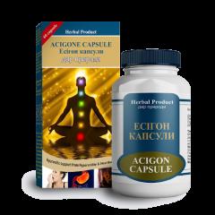 Есигон от повишенной кислотности Herbal Product, 60 капсул