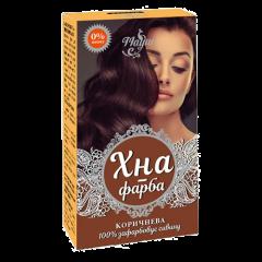 Хна-краска для волос на основе хны коричневая Mayur, 25г