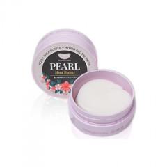 Гидрогелевые патчи для глаз с жемчугом KOELF Pearl & Shea Butter Eye Patch, 60 шт