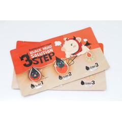 Elizavecca Набор 3 шага для удаления черных точек Milky Piggy Black Head Solution 3 Step
