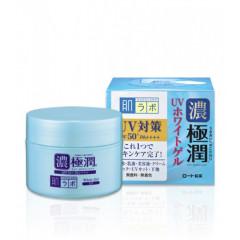 Солнцезащитный гиалуроновый гель для лица HADA LABO Koi-Gokujyun UV White Gel SPF50+ PA++++ 90г