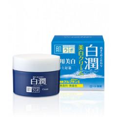 Отбеливающий крем с арбутином HADA LABO Shirojyun Medicated Whitening Cream, 50г