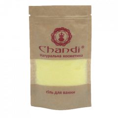 Соль для ванной Сандал и аргановое дерево Chandi, 60г