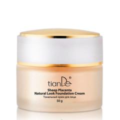 Тональный крем для лица, плацентарная серия (тон 01) TianDe 50 г