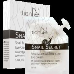 Многофункциональный крем для глаз с муцином улитки, SNAIL SECRET TianDe (5шт)