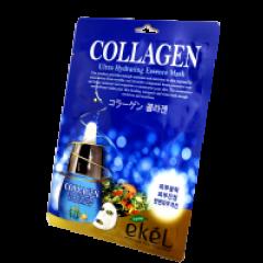 Коллагеновая тканевая маска «Биолифтинг» Ekel