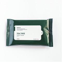 Тонизирующие салфетки для проблемной кожи с маслом чайного дереваA'pieu Nonco Tea Tree Toner Tissue,