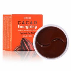 Гидрогелевые тонизирующие патчи для глаз с экстрактом какао PETITFEE Cacao Energizing Hydrogel Eye P