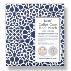 Патчи для пяток с гель-маслом KOELF Callus Care Heel Patch with Oil Gel - 3 штуки