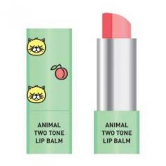Двухцветный бальзам для губ Skin79 Animal Two-Tone Lip Balm Peach Cat, 3.8 г