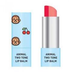 Двухцветный бальзам для губ Skin79 Animal Two-Tone Lip Balm Cherry Monkey, 3.8 г
