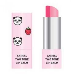Двухцветный бальзам для губ Skin79 Animal Two-Tone Lip Balm Strawberry Panda, 3.8 г
