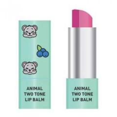 Двухцветный бальзам для губ Skin79 Animal Two-Tone Lip Balm Blueberry Mouse, 3.8 г