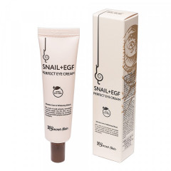 Крем для глаз с муцином улитки Secret Skin Snail+EGF Perfect Eye Cream, 30 мл