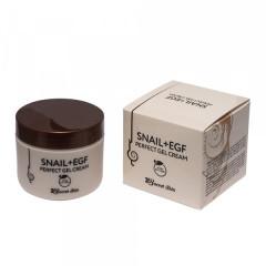 Крем-гель для лица с муцином улитки Secret Skin Snail + EGF Perfect Gel Cream, 50 мл