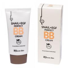 ББ крем с муцином улитки Secret Skin Snail+EGF Perfect BB Cream, 50 мл